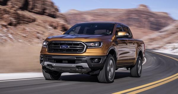 Ford Ranger 2018 mạnh mẽ
