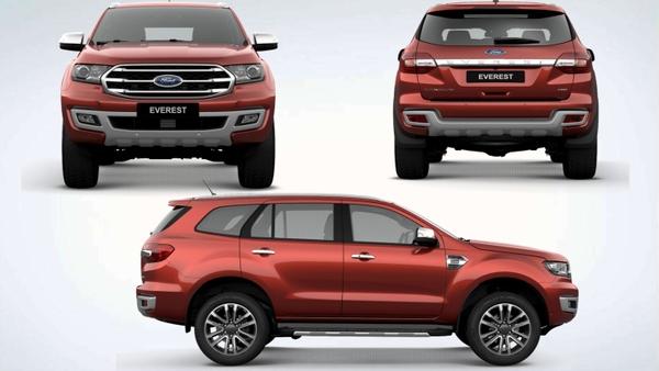 đánh giá xe ford everest 2019 nhập khẩu