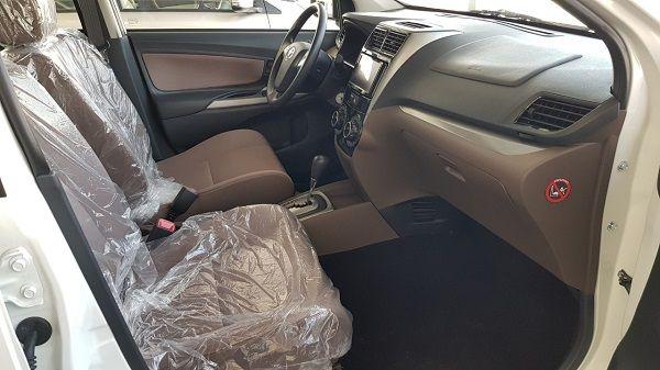 Avanza 2019có nội thất ghế nỉ chỉnh tay.
