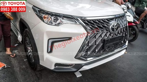 bodykit Lexus 570 Fsport cho Fortuner