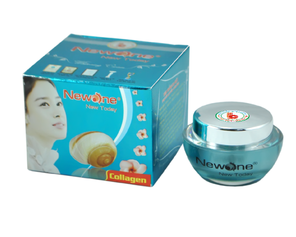 Kem Trắng Da Mặt Collagen New One Linh Chi (17g)-NW025