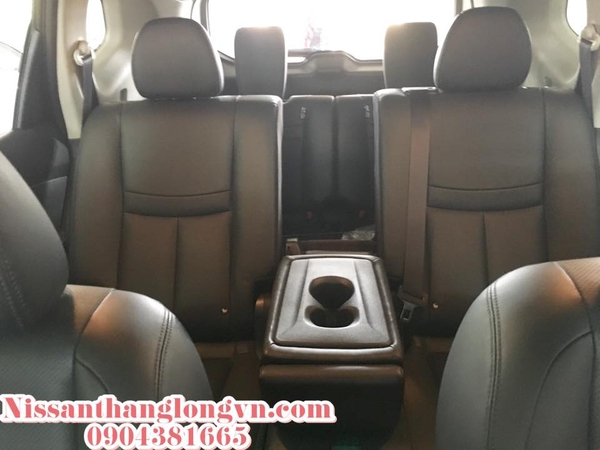 Nissan X-trail chiếc SUV 5+2 cao cấp