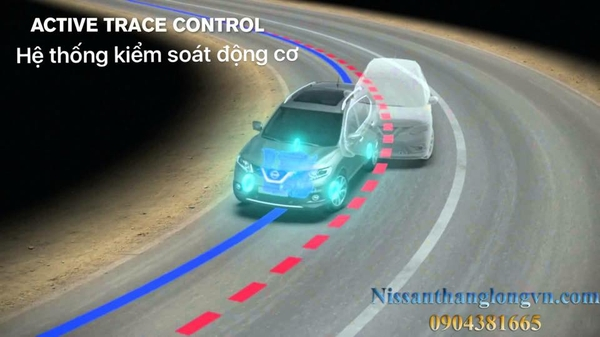 Hệ thống Active Trace Control - Chassis Control trên Nissan X-trail