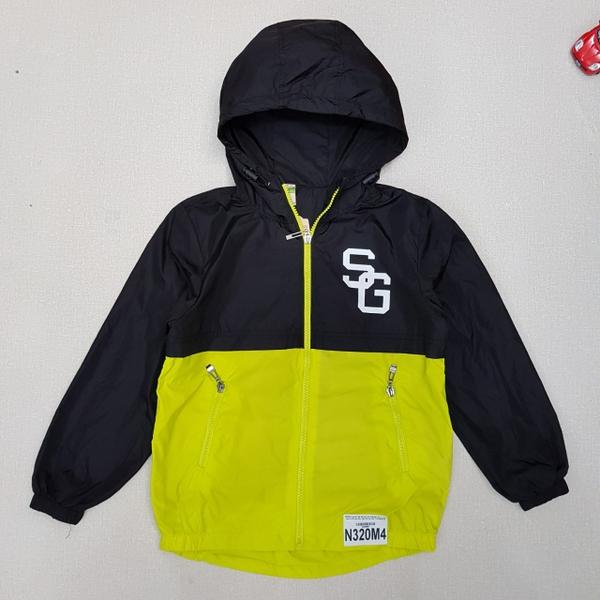 Áo khoác bé trai, kéo khóa kèm mũ, in chữ, hiệu cet cet, size 7-12/ ri6