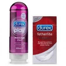 Gel bôi trơn Play Massage -Durex - DR04