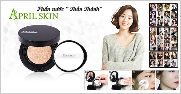 phan-nuoc-april-skin-magic-snow-cushion-tu-han-quoc