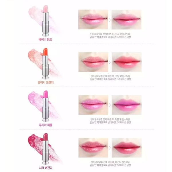 son-duong-co-mau-sweet-glam-tint-glow-secret-key