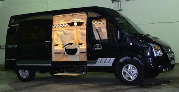ford transit dcar limousine
