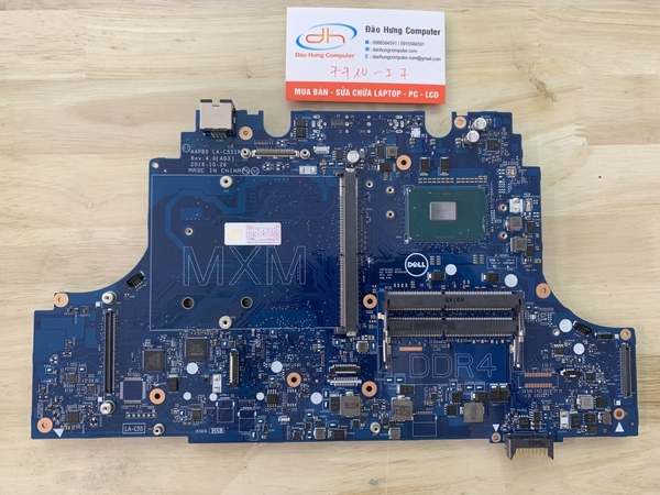 mainboard-dell-precision-7710-core-i7-6820hq