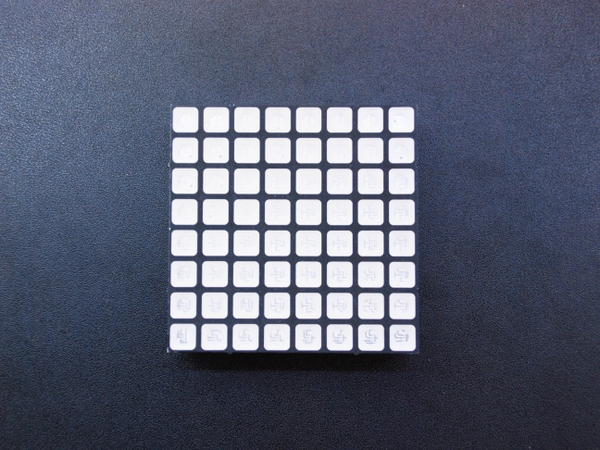 Led Matrix RGB 8x8 60x60MM F5 Vuông