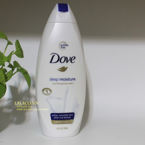 Sữa Tắm Dove Deep Moisture Nourishing Body Wash 709ml Lalaco Vn