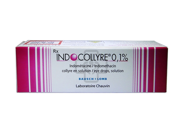 Indocollyre 0,1% Eye Drops 5ml
