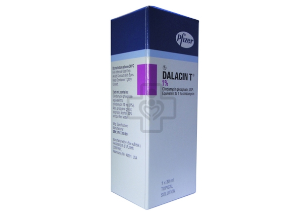 Dalacin T solution 1% 30ml