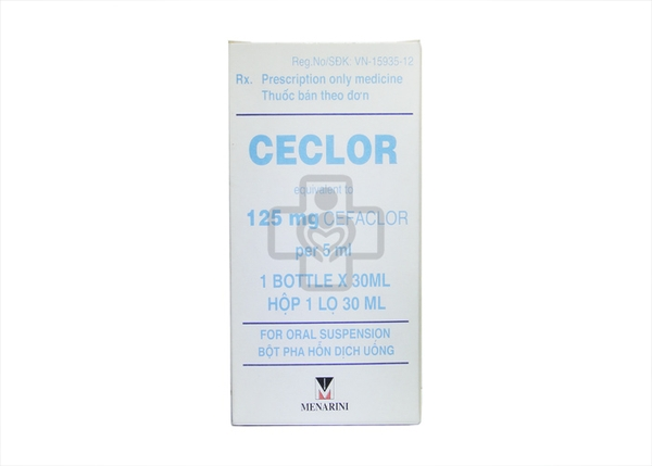 Ceclor 125mg/5ml 30ml