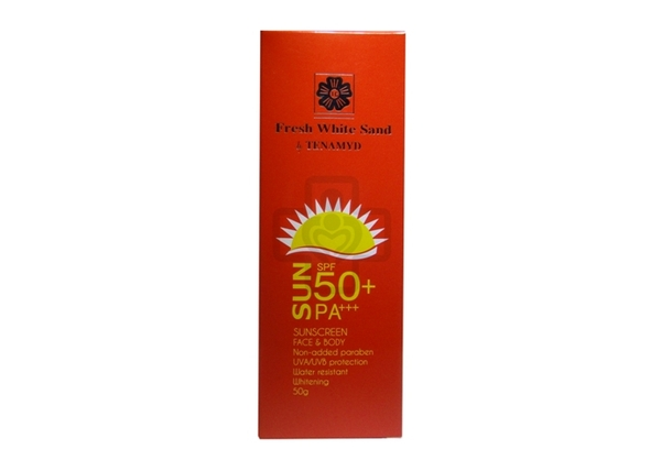 Tenamyd Sunscreen SPF50 Cream 50g