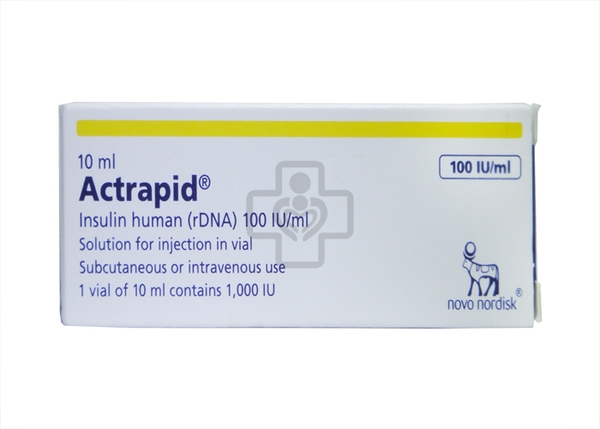 Actrapid 100IU/ml 10ml