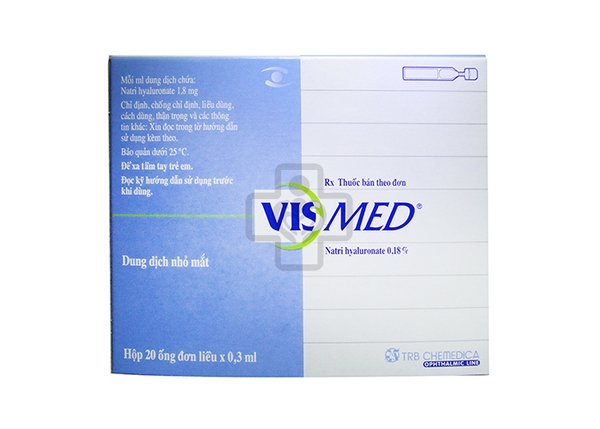 Vismed Eye Drop 0,18% 0,3ml