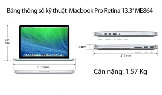 Macbook Retina ME864
