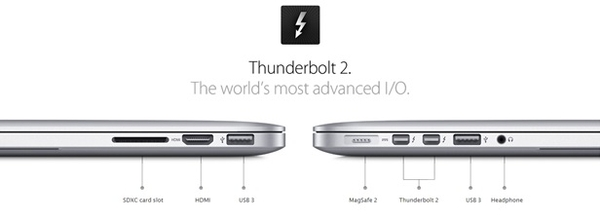MacBook Retina MJLT2 - Mid 2015 - Thunderbolt 2