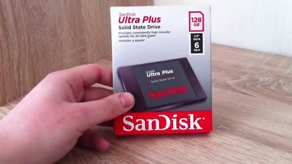 SanDish Ultra Plus SSD