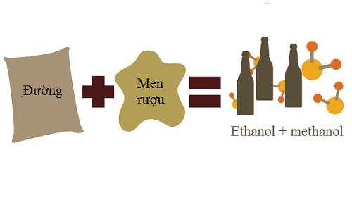 độc tố methanol trong rượu