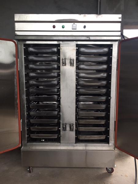 Tủ nấu cơm 24 khay 100kg.mẻ