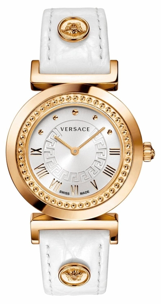 Đồng Hồ VERSACE P5Q80D001S001 VANITY EXTENSION ROSE GOLD ION-PLATED WATCH WITH LEATHER BAND