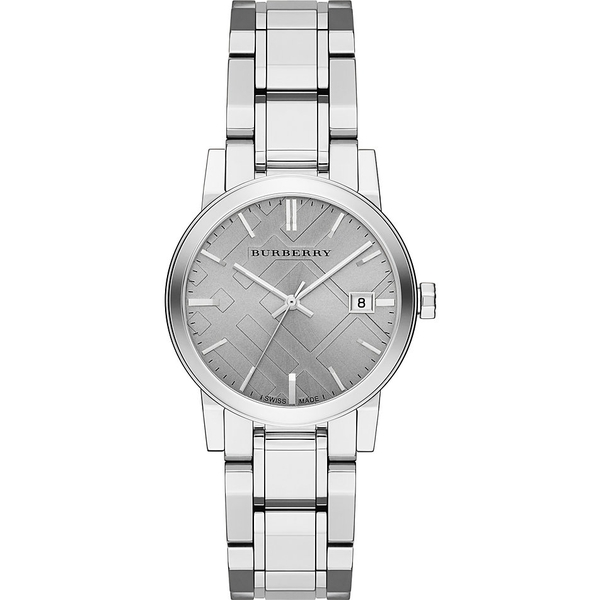 Đồng hồ Burberry BU9143 City Silver Watch