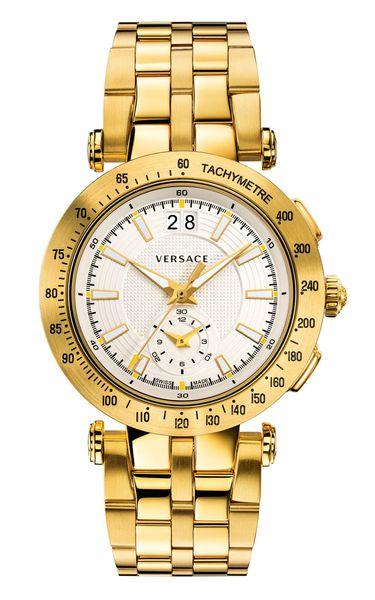Đồng Hồ VERSACE VAH030016 V-RACE SWISS QUARTZ STAINLESS STEEL WATCH