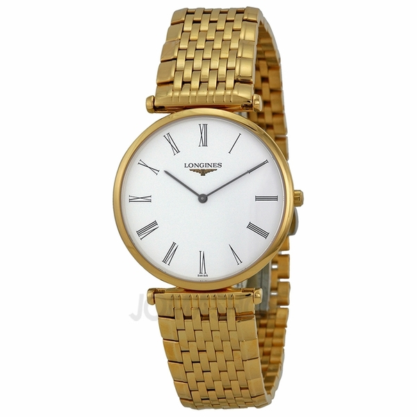 Đồng hồ Longines L4.709.2.11.8 La Grande Classique White Dial Yellow Gold Plated Unisex Watch