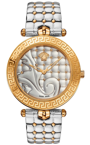 Đồng Hồ VERSACE VK7230015 VANITAS ANALOG DISPLAY SWISS QUARTZ TWO-TONE WATCH