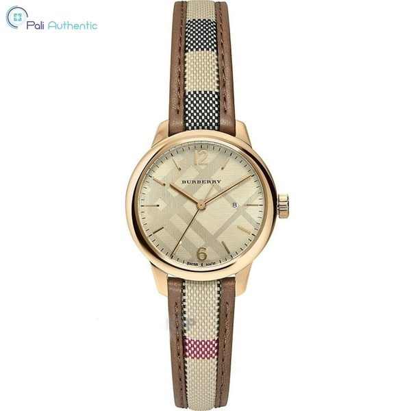 Đồng Hồ Burberry BU10114 The Classic Round Watch
