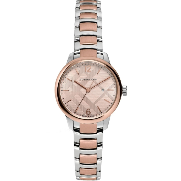 Đồng Hồ Burberry BU10117 The Classic Round Watch