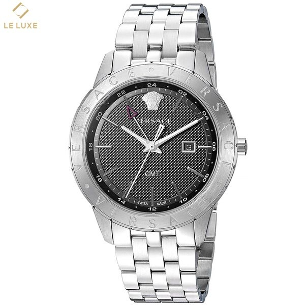 ĐỒNG HỒ VERSACE MEN'S BUSINESS SLIM QUARTZ WATCH WITH STAINLESS-STEEL STRAP
