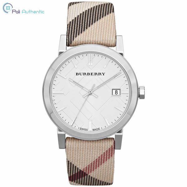 Đồng hồ Burberry BU9022 HERITAGE Ladies Silver 38mm
