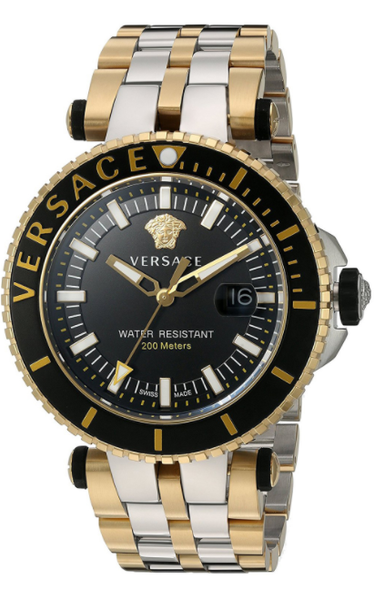 Đồng Hồ VERSACE VAK040016 V-RACE SWISS QUARTZ STAINLESS STEEL WATCH