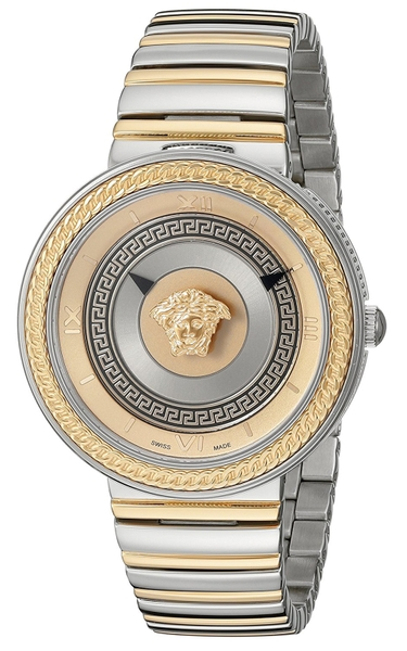 Đồng Hồ VERSACE VLC080014 V-METAL ICON LADIES TWO TONE WATCH