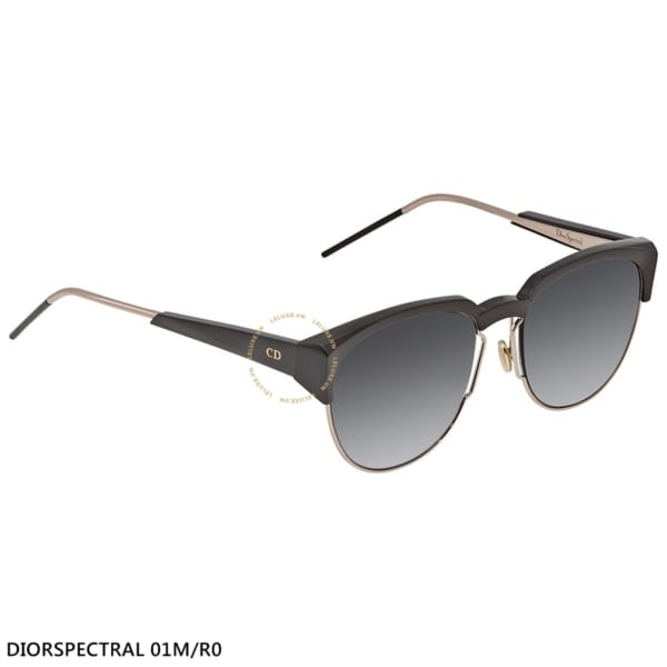 Kính Dior Grey Shaded Browline Ladies Sunglasses