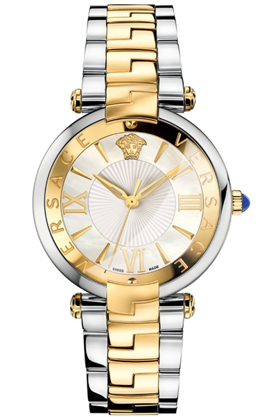 Đồng Hồ VERSACE VAI050016 REVIVE TWO TONE STAINLESS STEEL WHITE MOP DIAL WATCH