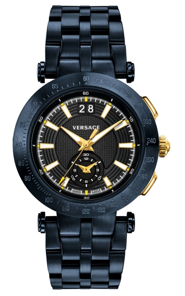 Đồng Hồ Versace VAH050016 V-RACE SWISS QUARTZ STAINLESS STEEL CASUAL WATCH