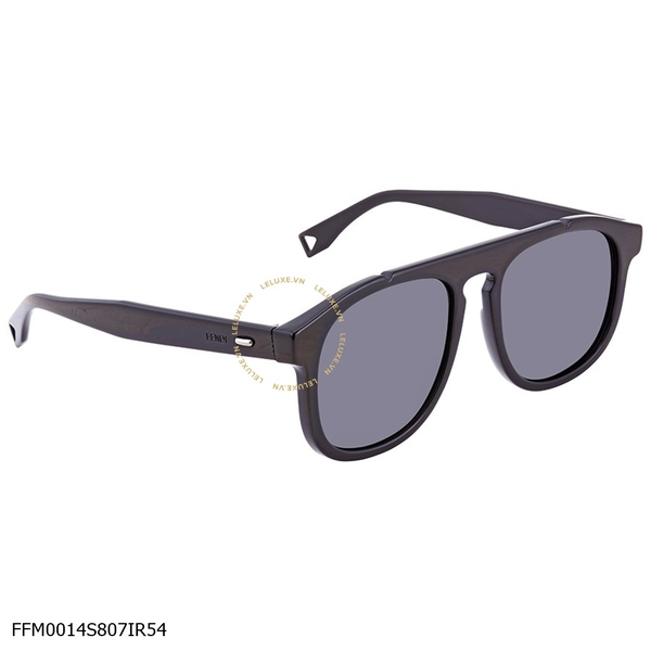 Fendi Angle Grey Square Men's Sunglasses FFM0014S807IR54