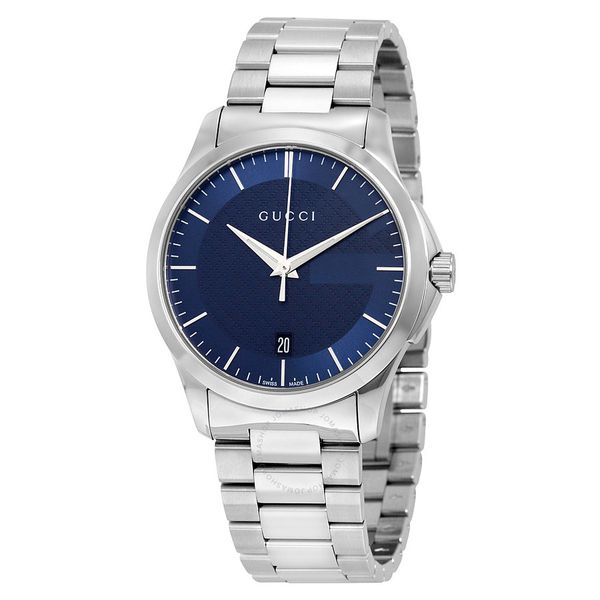 Đồng Hồ Gucci YA126440 G-Timeless Blue Dial Stainless Steel Unisex Watch
