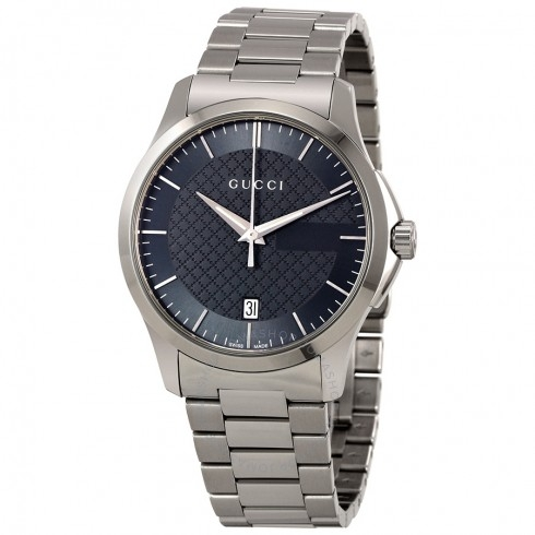 Đồng Hồ Gucci YA126441 G-Timeless Grey Dial Stainless Steel Unisex Watch