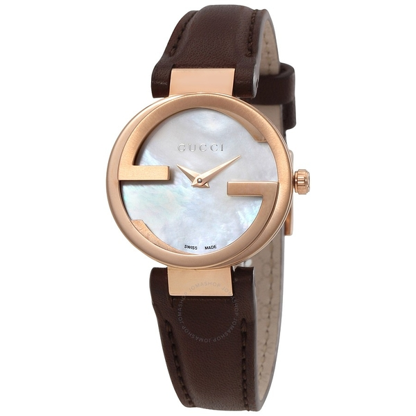 Đồng Hồ Gucci YA133516 Interlocking Automatic Ladies Watch