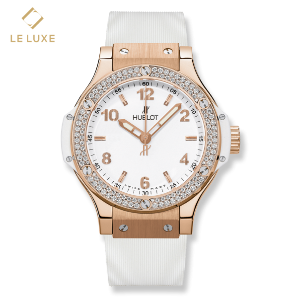 ĐỒNG HỒ HUBLOT BIG BANG QUARTZ GOLD WHITE