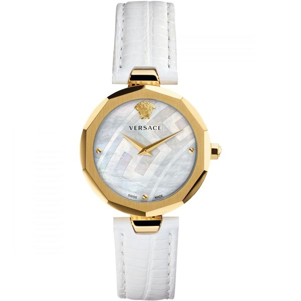 Đồng Hồ Versace V17050017 Ladies Idyia Genuine Leather Strap Watch