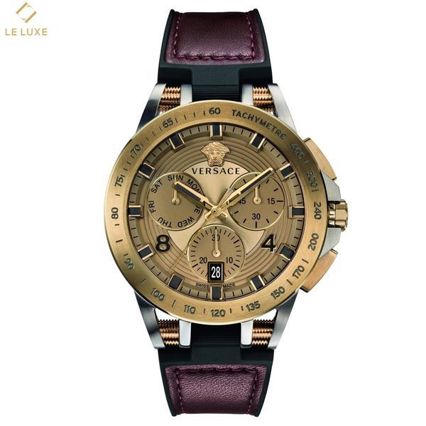 ĐỒNG HỒ VERSACE SPORT TECH MENS CHRONOGRAPH IP BRONZE WATCH