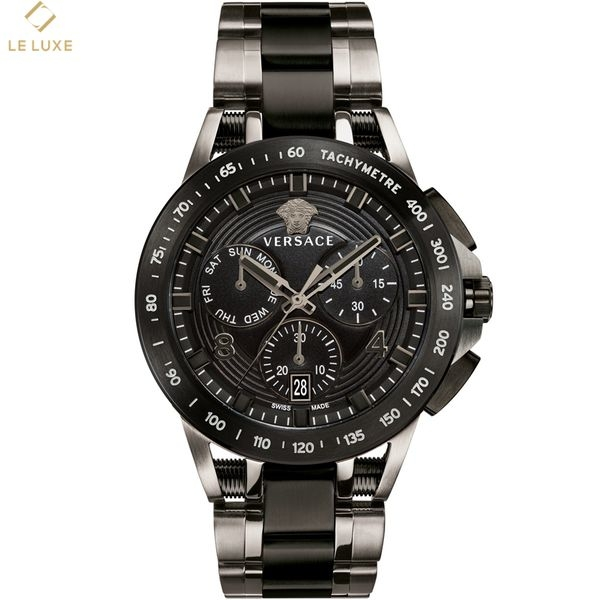 ĐỒNG HỒ VERSACE SPORT TECH MEN'S TWO-TONE BRACELET WATCH