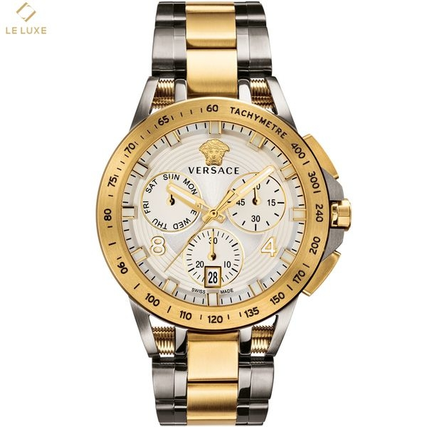 ĐỒNG HỒ VERSACE SPORT TECH CHRONO HERRKLOCKA WHITE & GOLD WATCH