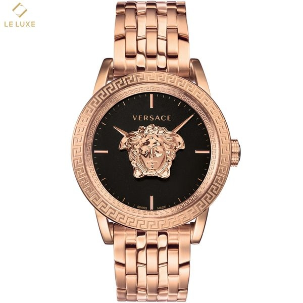 ĐỒNG HỒ VERSACE PALAZZO EMPIRE MEN'S ROSE GOLD PLATED BRACELET WATCH